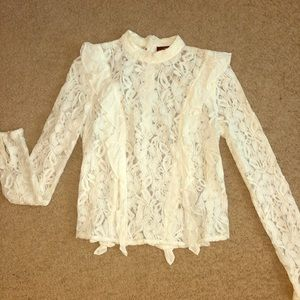 Lace Top (ivory)